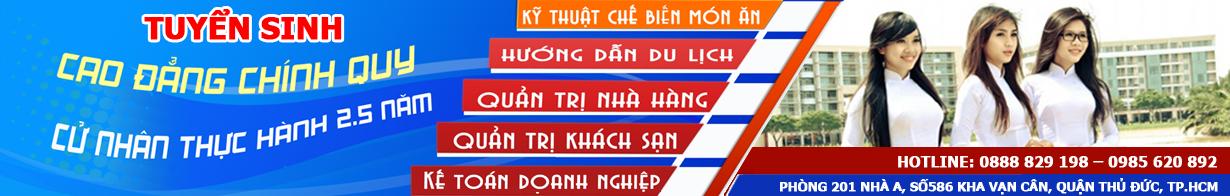 Cao đẳng du lịch TP Hồ Chí Minh